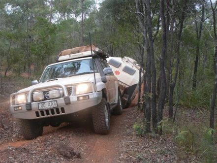 4wd Towing safely course brisbane