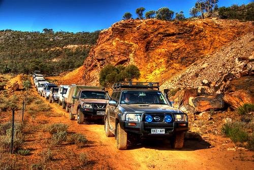 4wd convoy