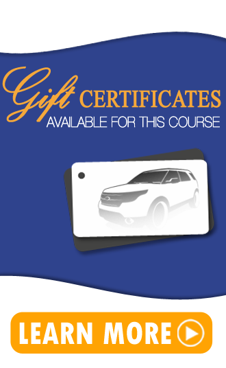 4wd course gift certificate