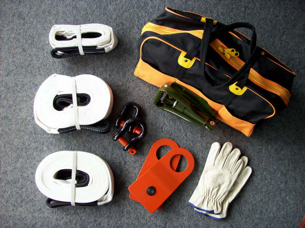 4wd tour equipment
