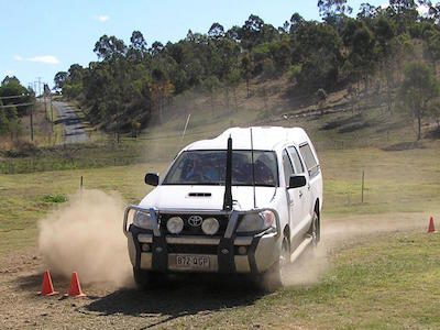 OPERATING A 4WD VEHICLE
